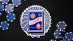 Blue Cohorts (Luxury-pressed E7) Playing Cards