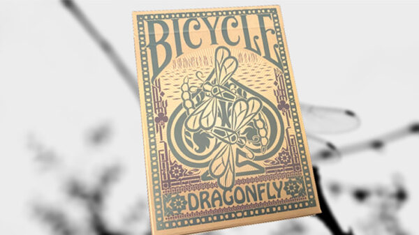 Bicycle Dragonfly (Tan) Playing Cards
