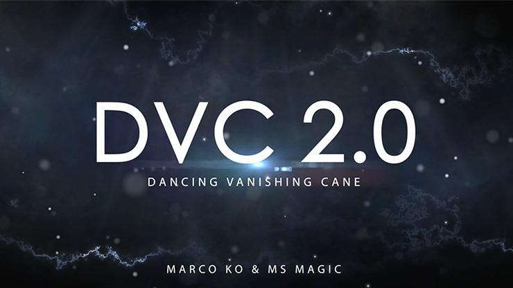 Dancing Vanishing Cane V2 / BLACK (D.V.C.) by Magiclism