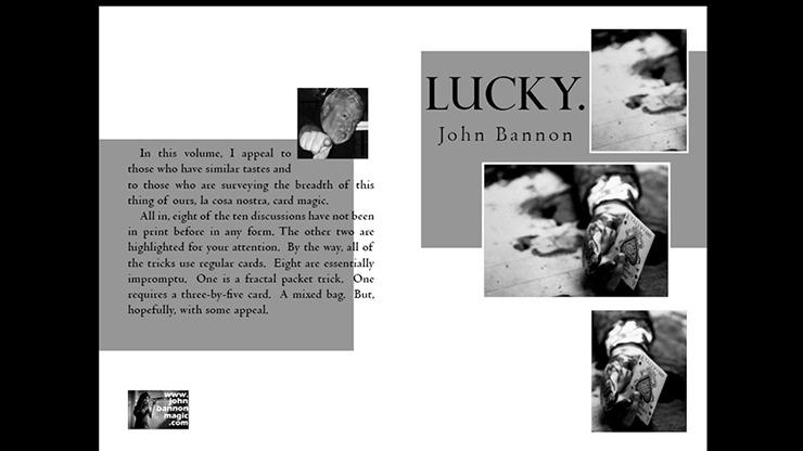 Lucky by John Bannon - Book