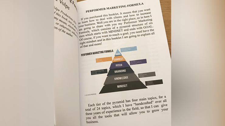Performer Marketing Formula by Luca Volpe - Book