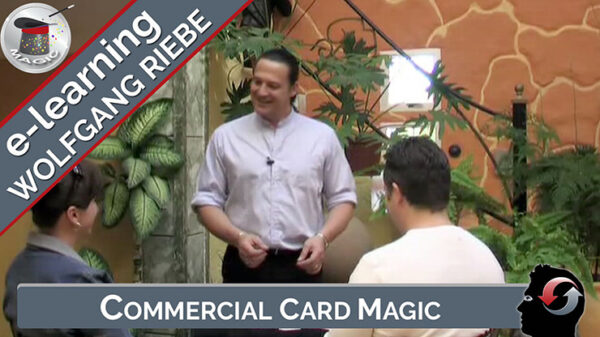 Commercial Card Magic by Wolfgang Riebe video DOWNLOAD - Download