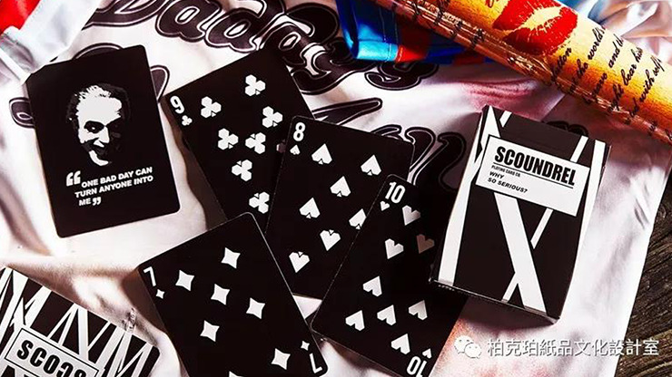 Scoundrel Playing Cards by Bocopo