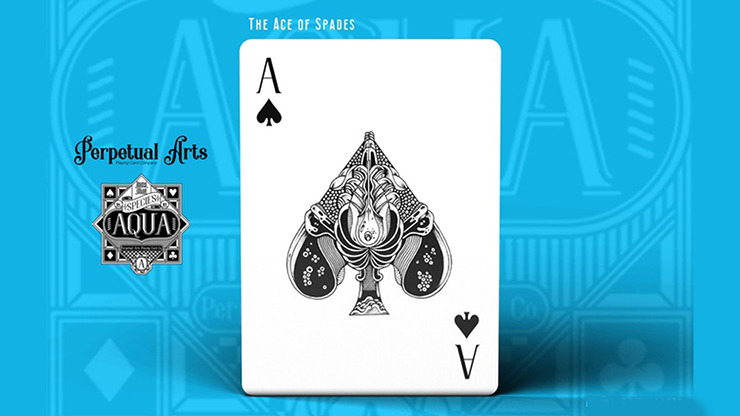 Aqua Species Playing Cards by Perpetual Arts