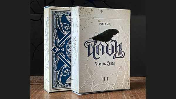 RAVN IIII (Blue) Playing Cards Designed by Stockholm17