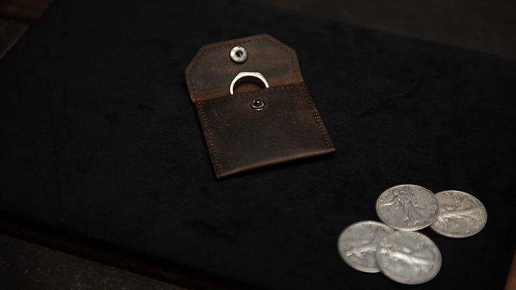 FPS Coin Wallet Brown by Magic Firm