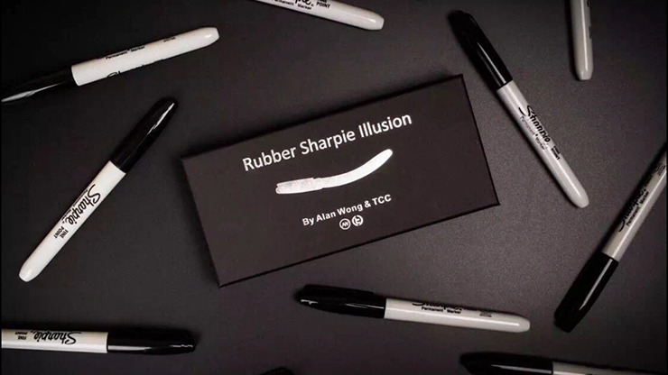 Rubber Sharpie Illusion by Alan Wong & TCC