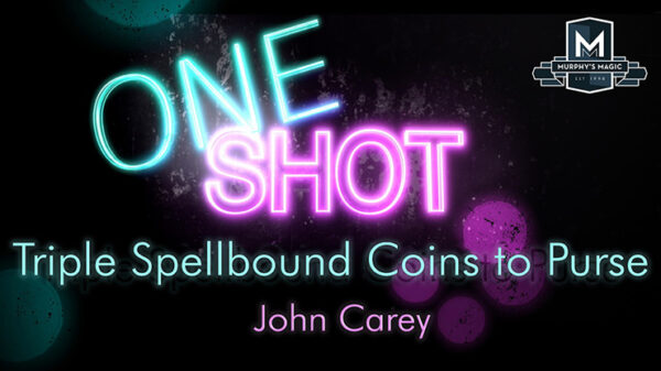 MMS ONE SHOT - Triple Spellbound Coins to Purse by John Carey video DOWNLOAD - Download