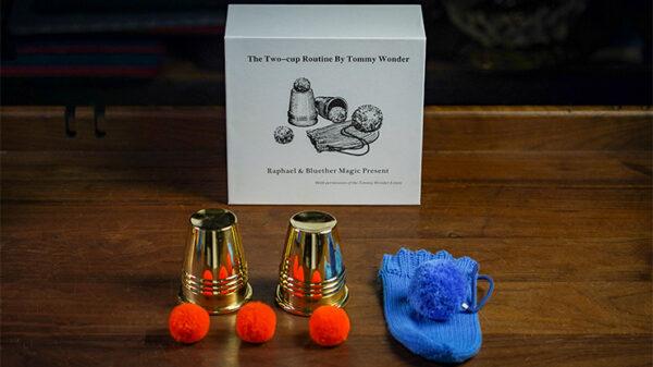 Tommy Wonder Cups & Balls Set (Brass)