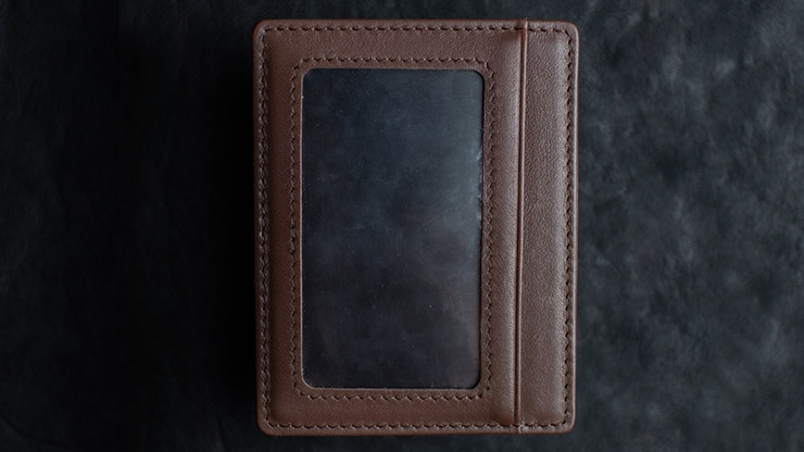 Limited Edition Shadow Wallet Bourbon Tan Leather by Dee Christopher and 1914