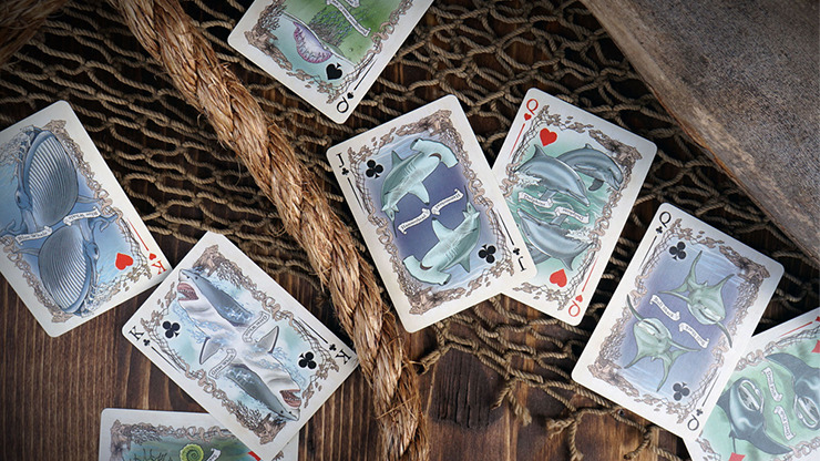Sea Creatures Deck (Colorized) Playing Cards