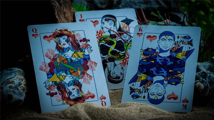 ONDA Ultramarine Playing Cards by JOCU