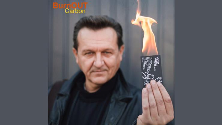 BURNOUT 2.0 CARBON BLACK by Victor Voitko