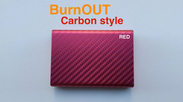 BURNOUT 2.0 CARBON RED by Victor Voitko