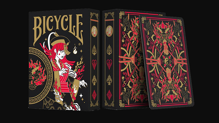 Bicycle Midnight Geung Si Playing Cards