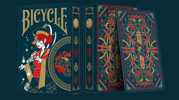 Bicycle Twilight Geung Si Playing Cards