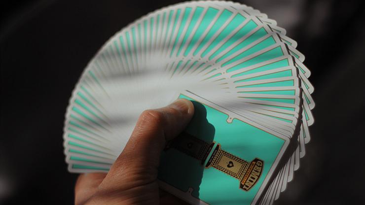 Gemini Casino Turquoise Playing Cards by Gemini