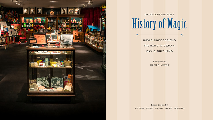 David Copperfield's History of Magic by David Copperfield, Richard Wiseman and David Britland - Book