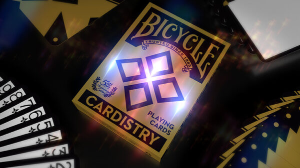 5th anniversary Bicycle Cardistry Playing (Foil) Cards by Handlordz
