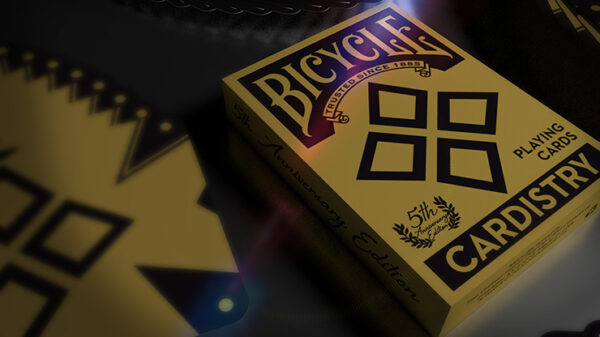 5th anniversary Bicycle Cardistry (Standard) Playing Cards by Handlordz