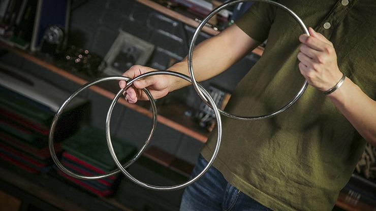 Michael Ammar Linking Rings / 5 Ring Set by Michael Ammar & TCC