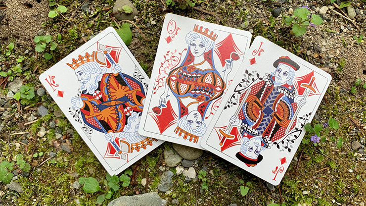 Bicycle Ant (Black) Playing Cards
