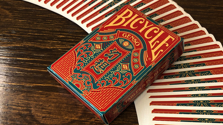 Bicycle Genso Green Playing Cards by Card Experiment