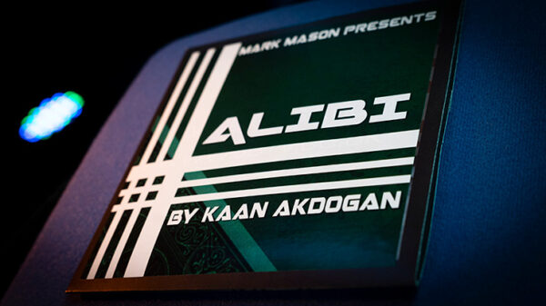 Alibi Blue by Kaan Akdogan and Mark Mason