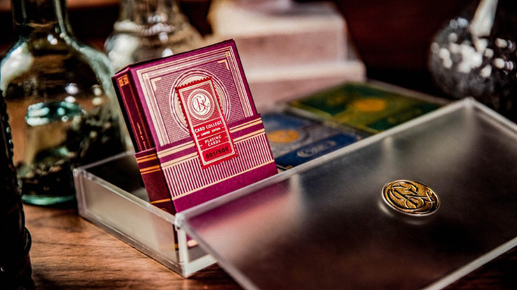 Card College Luxury Acrylic Box Set by Roberto Giobbi and Ark Playing Cards