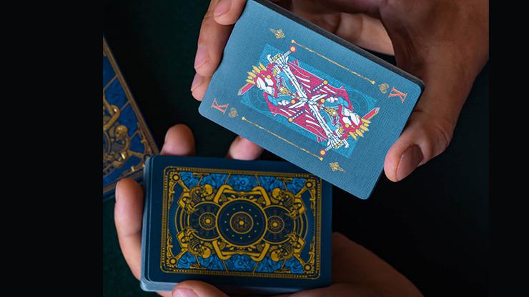 INFINITUM (Royal Blue) Playing Cards