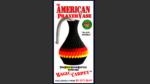 The American Prayer Vase Genie Bottle BLACK MAMBA by Big Guy's Magic