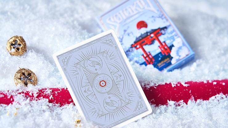Solokid Sakura (Blue) Playing Cards by BOCOPO