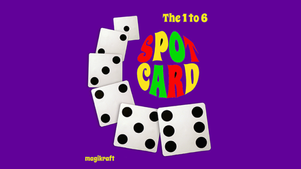 1 TO 6 SPOT CARD by Martin Lewis