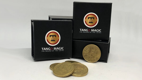 Perfect Shell Coin Set Euro 50 Cent (Shell and 4 Coins E0091) by Tango Magic