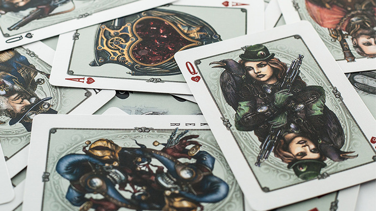 ARISTO Steampunk V2 Playing Cards