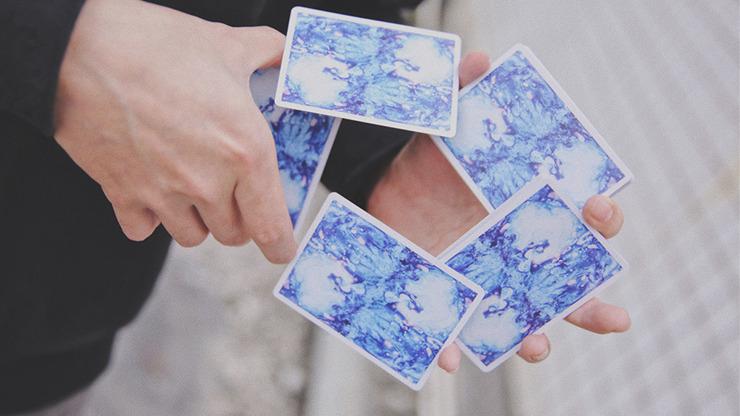 Fluid Art Blue (Standard Edition) Playing Cards