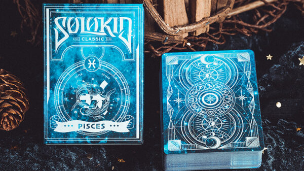Solokid Constellation Series v2 (Pisces) Playing Cards by BOCOPO
