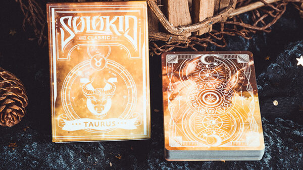 Solokid Constellation Series V2 (Taurus) Playing Cards by BOCOPO