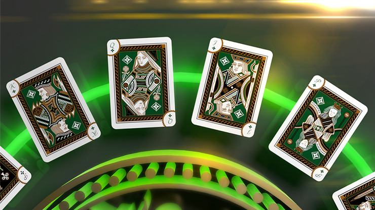 Emerald Princess Edition Playing Cards by Grandmasters