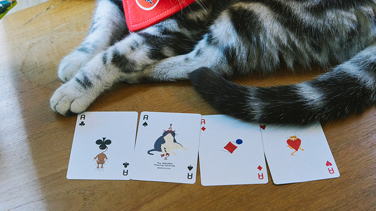 Meow Star Playing Cards by Bocopo