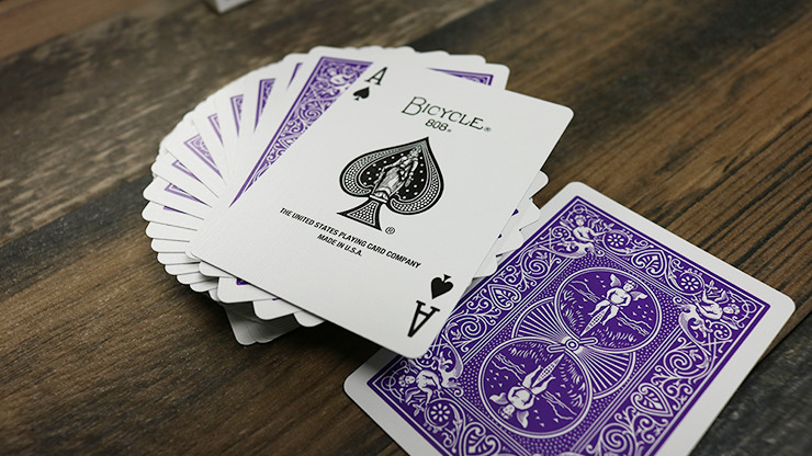 Bicycle Purple Playing Cards by US Playing Card Co