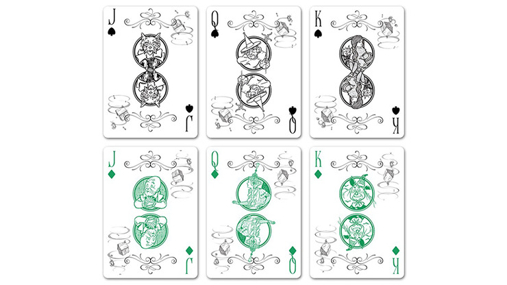 Wizard Of Oz Plying Cards by fig.23