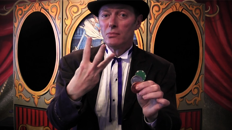 3 Fryed Coin by Charlie Frye and Tango Magic