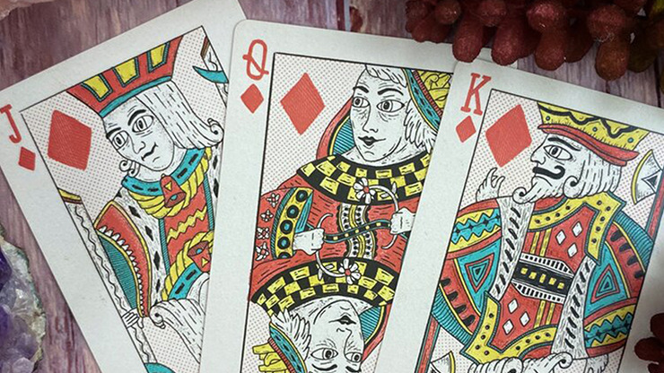 Broken Crowns Playing Cards