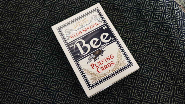 Bee Lotus Casino Grade (Blue) Playing Cards