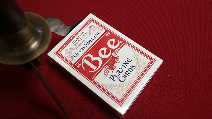 Bee Lotus Casino Grade (Red) Playing Cards