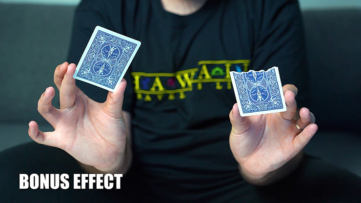RIPPED TRAVEL (Blue Gimmicks and Online Instruction) by Craziest