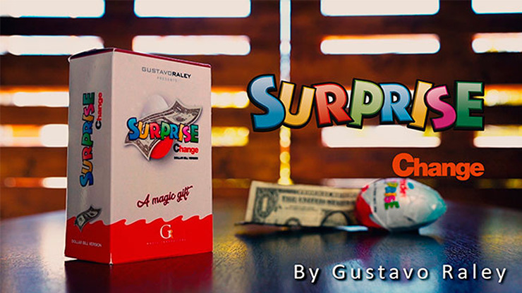 Surprise Change by Gustavo Raley