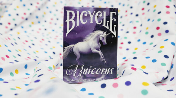 Anne Stokes Unicorns (Purple) Cards by USPCC