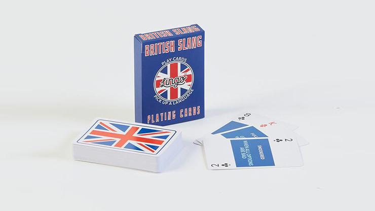Lingo (British Slang) Plying Cards